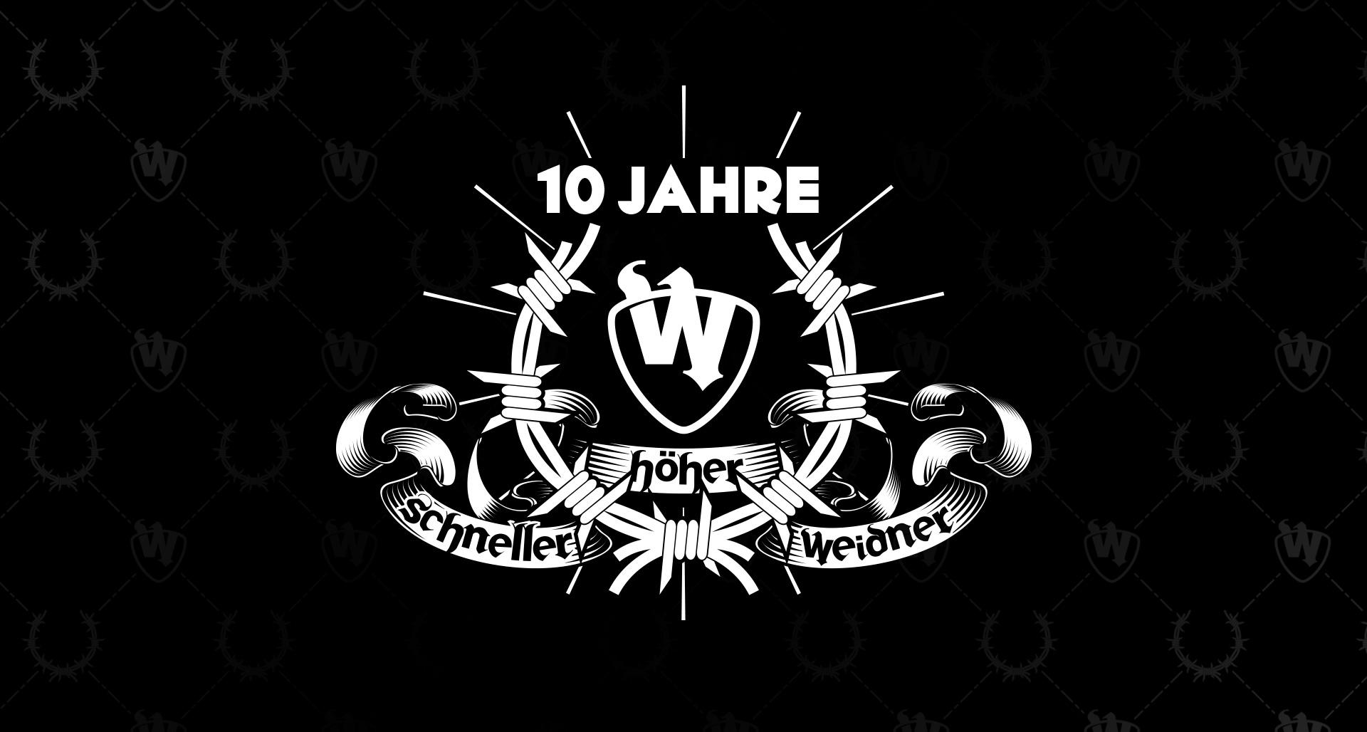 10 Jahre – Schneller, höher, Weidner